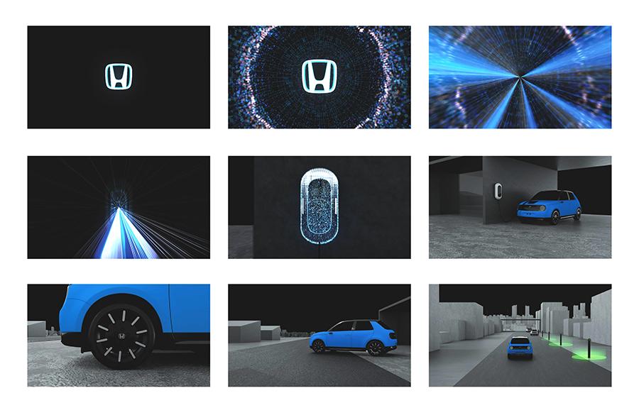 Honda Charging Storyboard